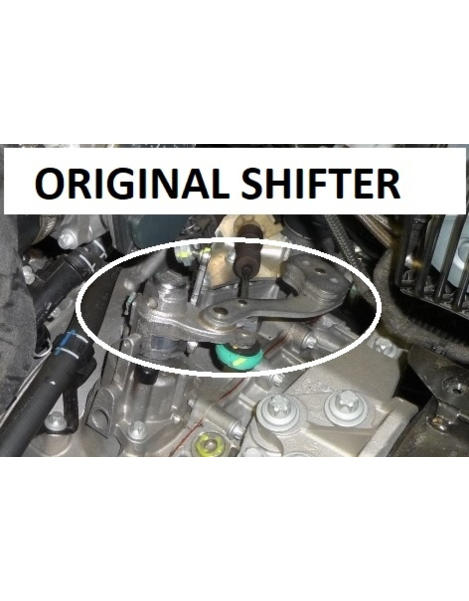 4H-TECH short shift type Q2-Shift for the M20 and M32 transmissions (05-2016 and younger)