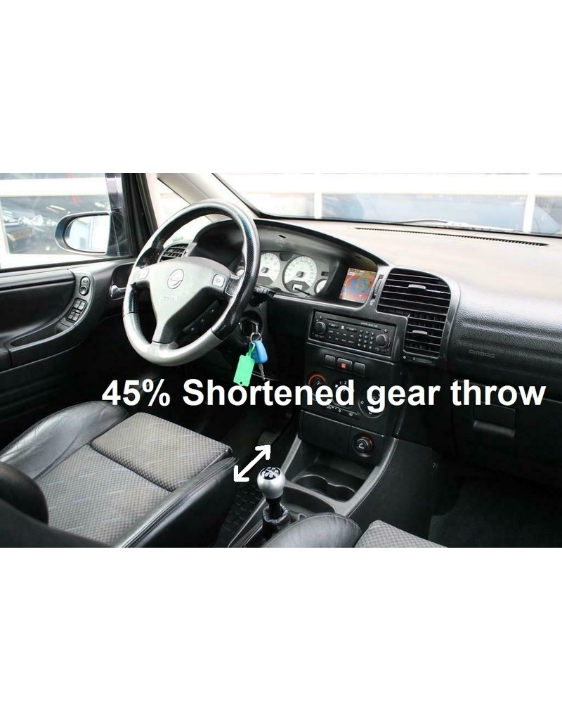 4H-TECH Short Shifter type T-Shift for Opel and Vauxhall