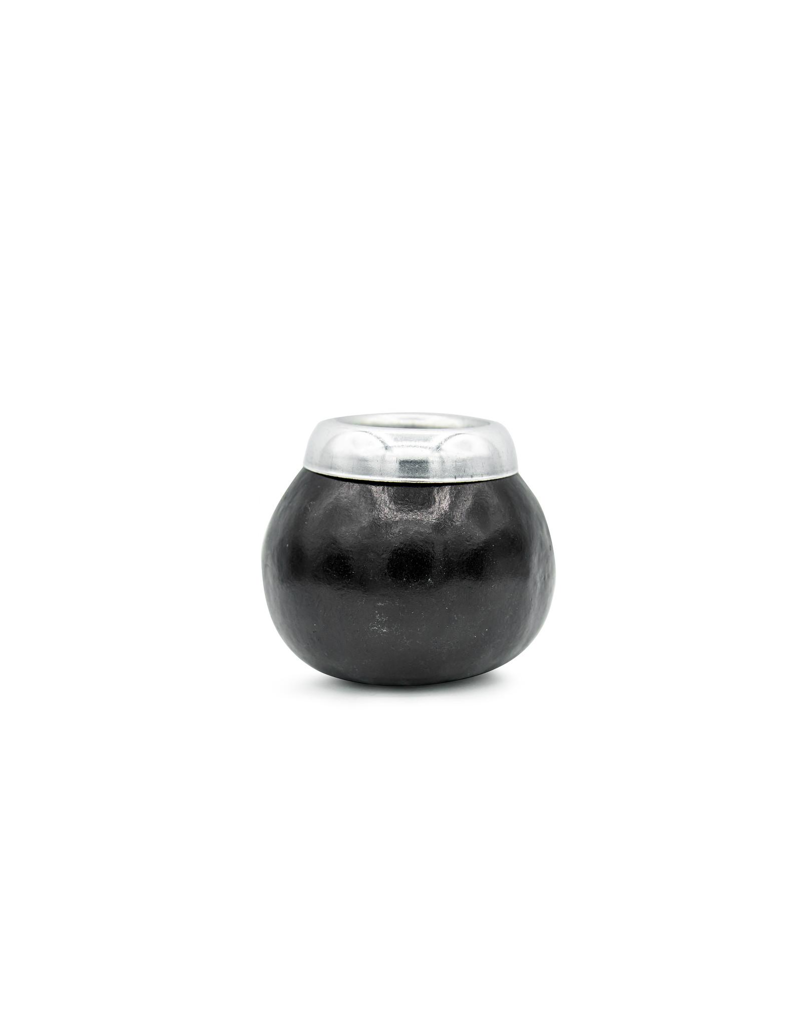 Calabaza negro con virola aluminio
