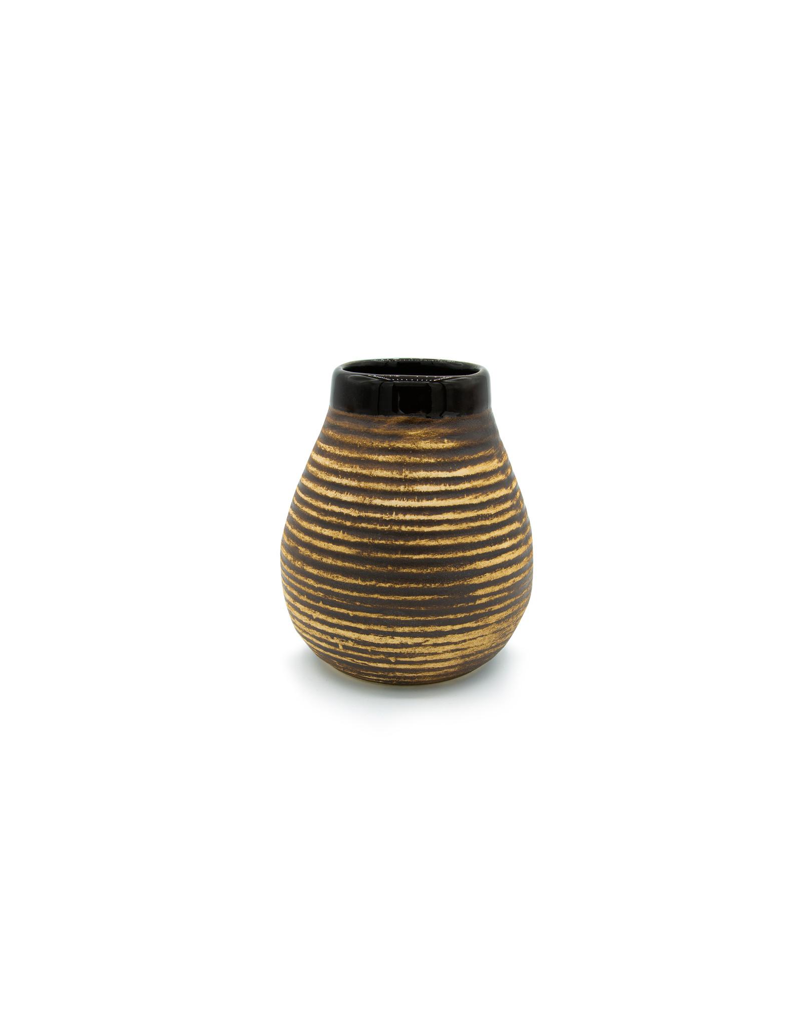 Keramische calabaza beige/bruin