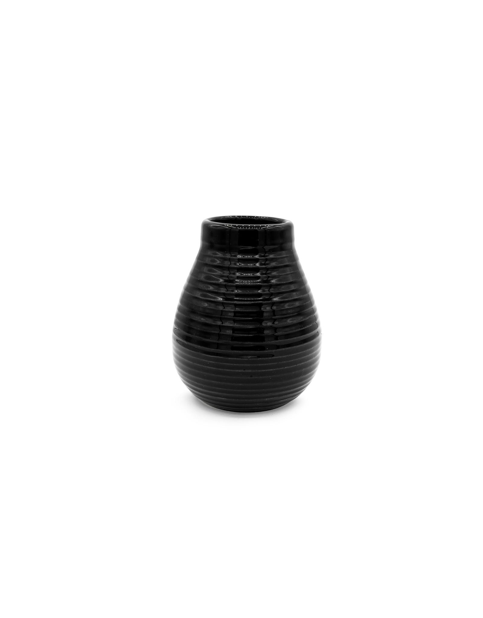 Calabaza céramique noire