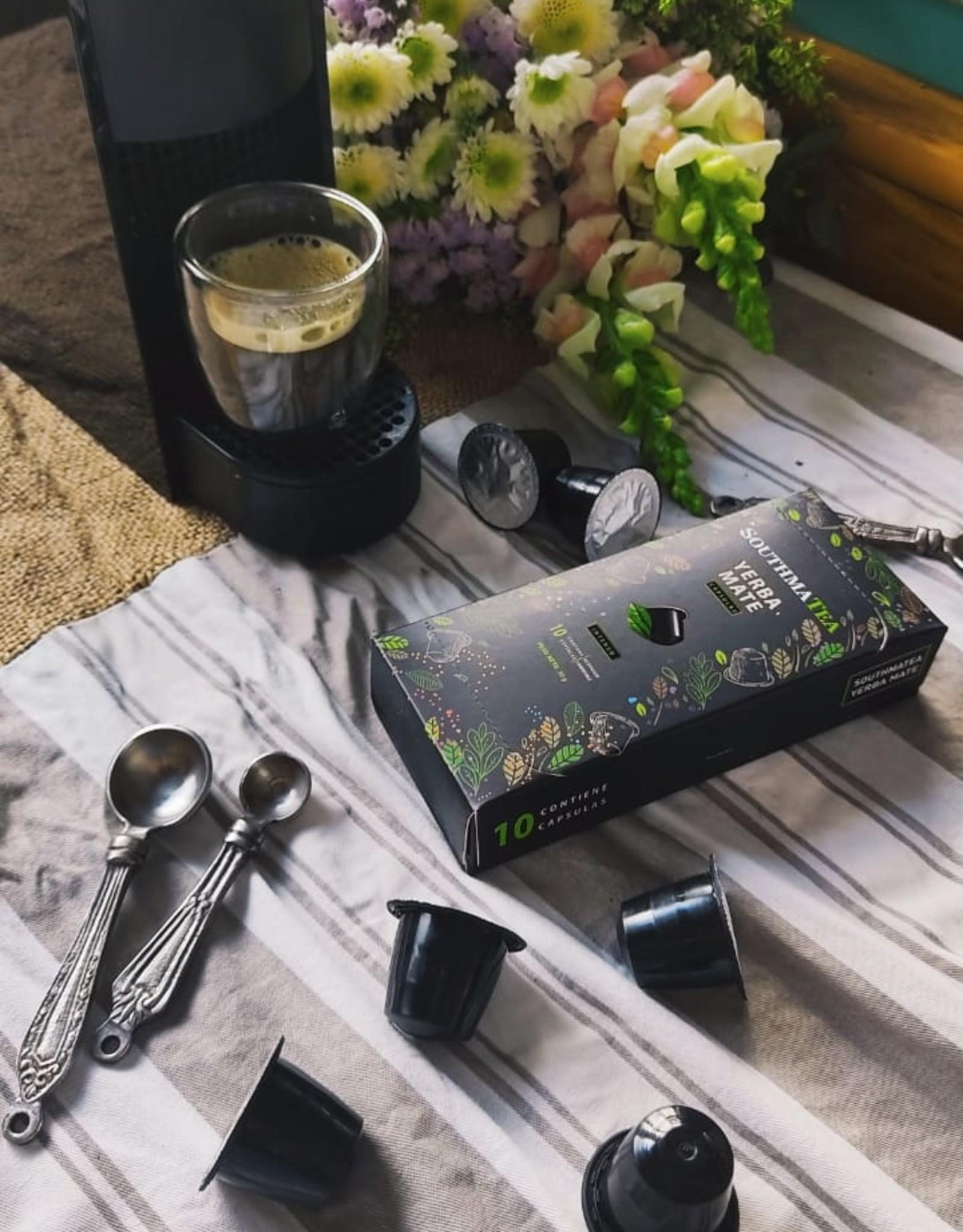 SouthmaTea Capsules de yerba mate (Machines de Nespresso)