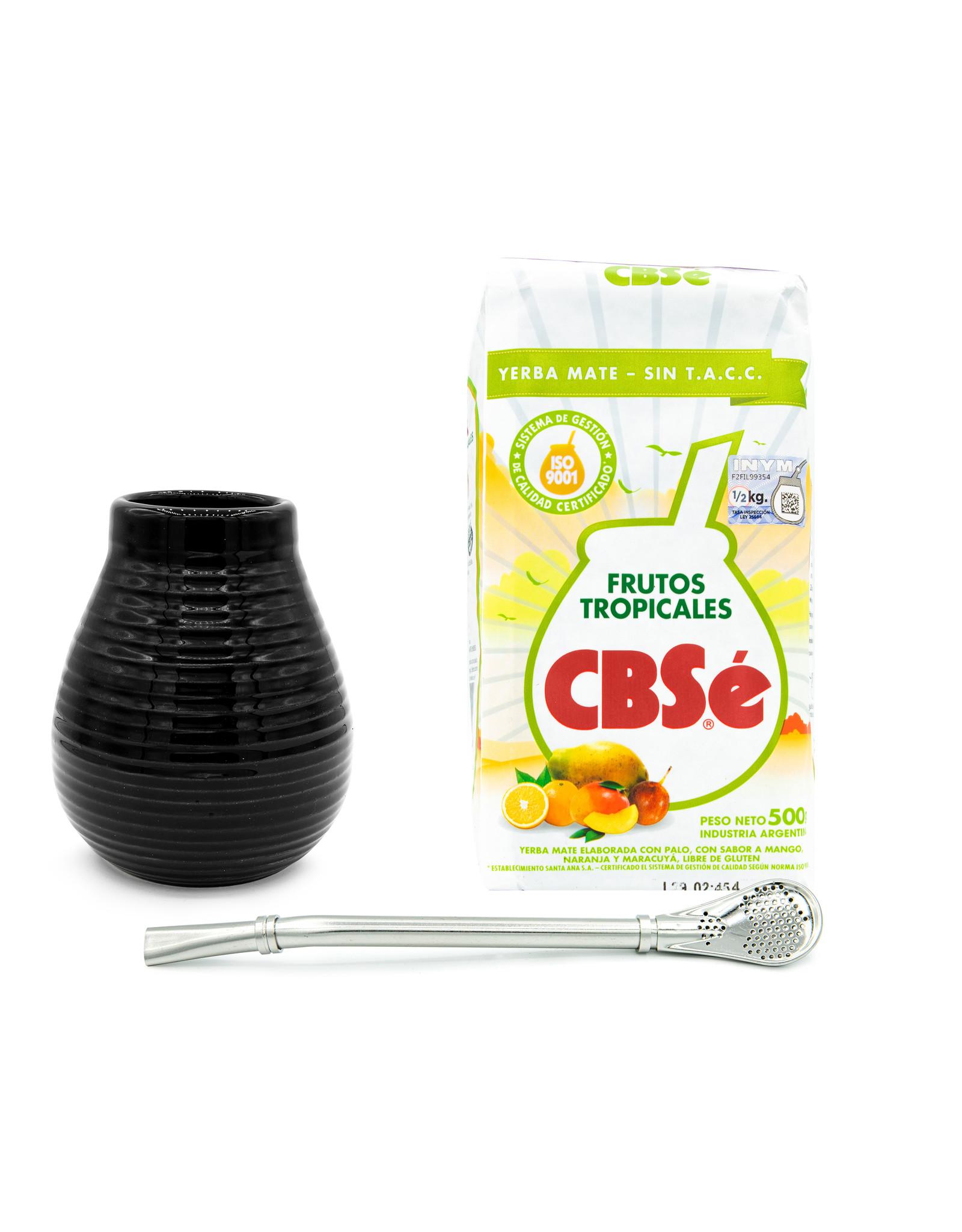 Starterskit Keramische calabaza zwart