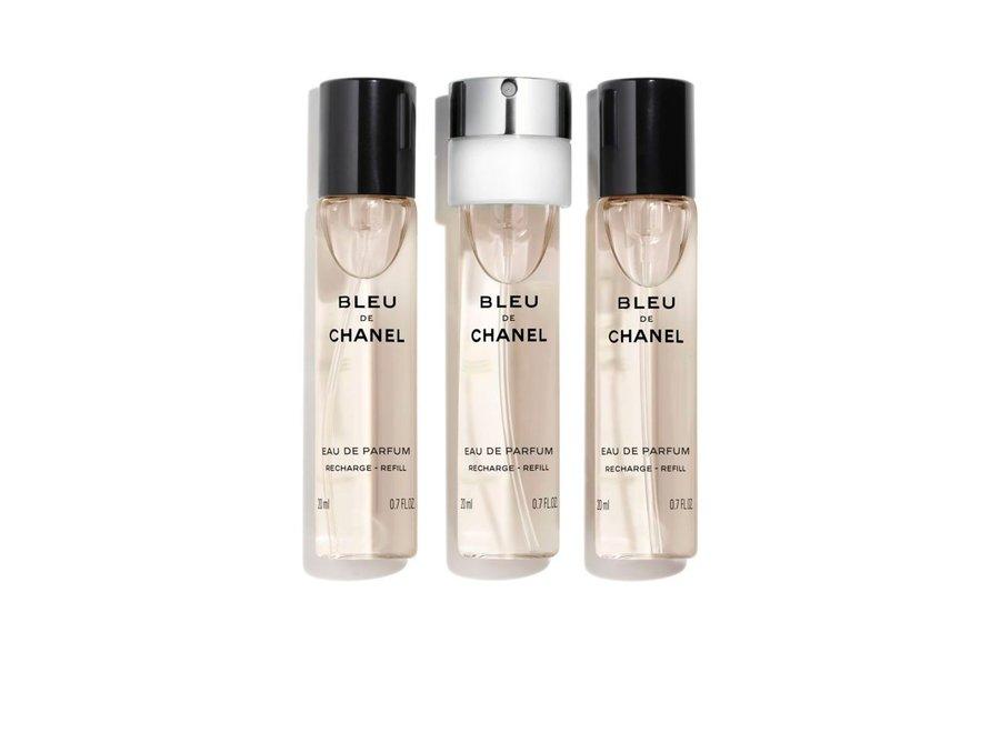 Bleu de Chanel Eau de Parfum Navulling Travel spray