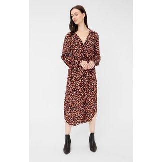 Pieces Pccraya ls midi dress
