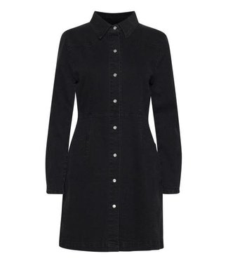 Ichi Olina dress washed black