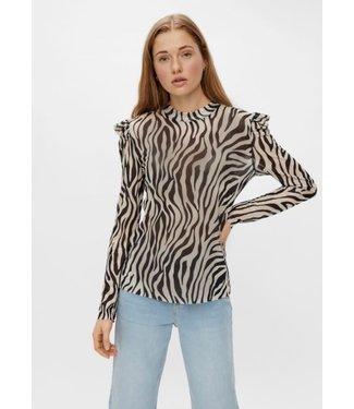 Pieces pczee mens top zebra