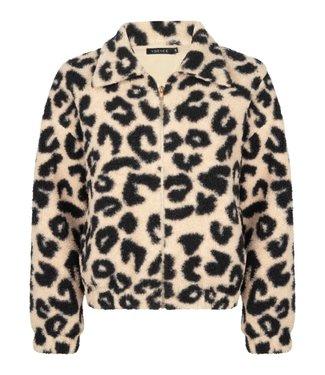 YDENCE Jamilla jacket leopard