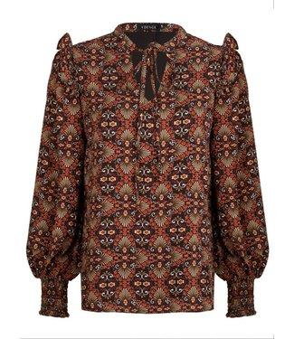 YDENCE Lizet blouse print paisley