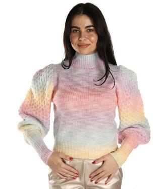 Gavi fashion Ambika trui rainbow