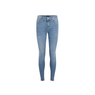 Pieces delly skinny jeans light blue