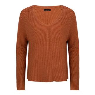 YDENCE tess knitwear rust v hals