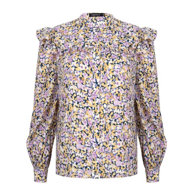 YDENCE manou blouse flower