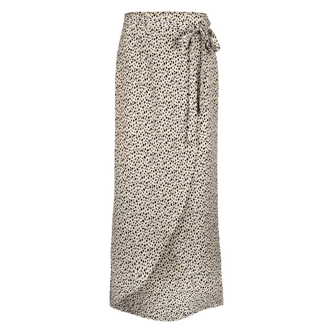 YDENCE vanessa skirt leopard black/white