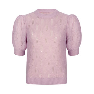 YDENCE knit jade lilac