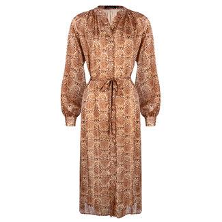 YDENCE jurk sand paisley