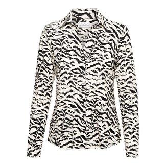 &Co woman vayen blouse zebra travelkwaliteit