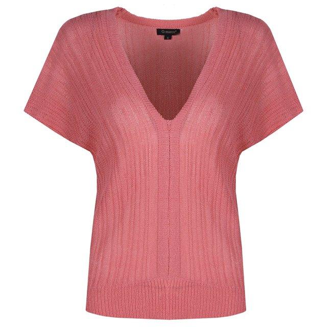 G-Maxx top summer pink