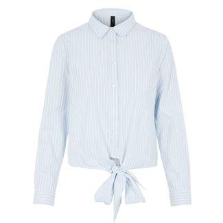 Y.A.S blue stripes blouse
