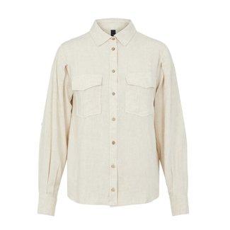 Y.A.S blouse viggi eggnog