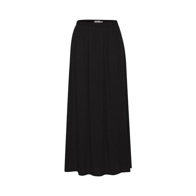 Ichi marrakech skirt zwart long