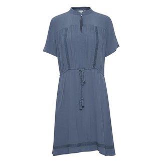Ichi citro dress blue