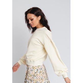 Gavi fashion cassandra sweatshirt ligt yellow