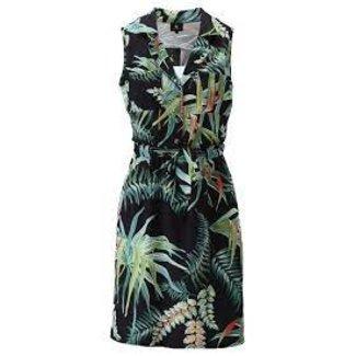 K-design S895 jurkje mouwloos riem & print