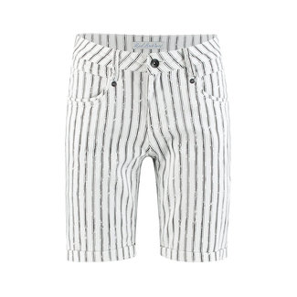 Red Button amy short painted stripe
