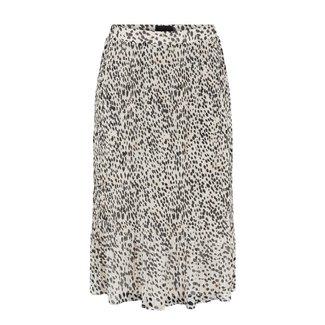 Pieces plissé rok leopard