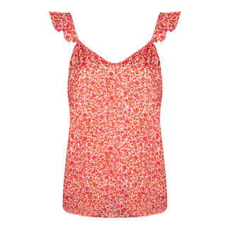 YDENCE top jaimy flower hot pink