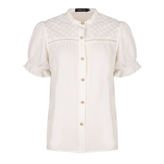YDENCE blouse claudia white