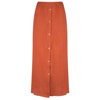 YDENCE skirt arranka terracota