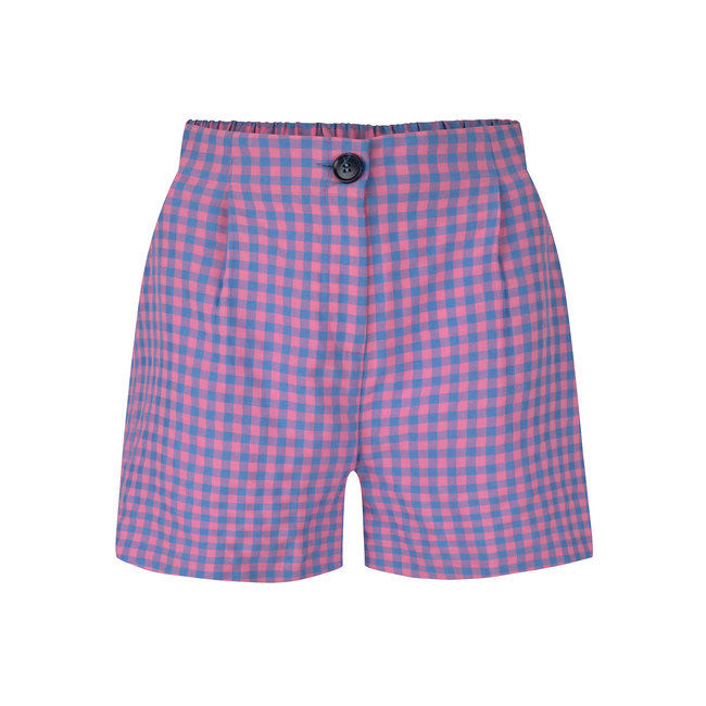 YDENCE short piper pink check