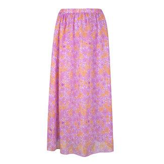 YDENCE skirt heather flower purple