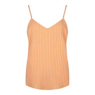 YDENCE top orange check