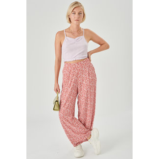 24colours pants pink flower