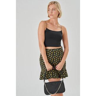 24colours skirt flower groen/geel