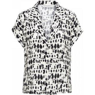 &Co woman becky blouse print