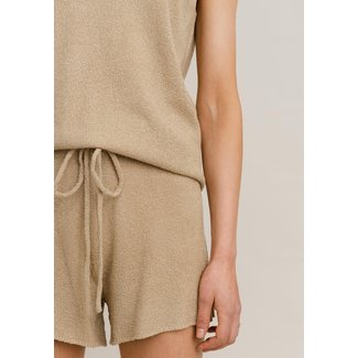 Rut&Circle alma knit short beige