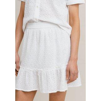 Rut&Circle vanessa skirt white broderie