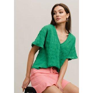 Rut&Circle cornelia blouse green