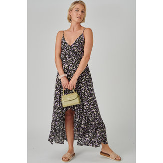 24colours maxi dress paars