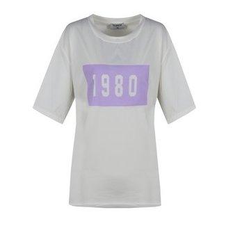 Fluresk t-shirt lila