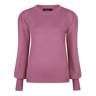YDENCE knitted top kelsey dusty pink