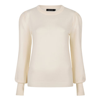 YDENCE knitted top kelsey of white