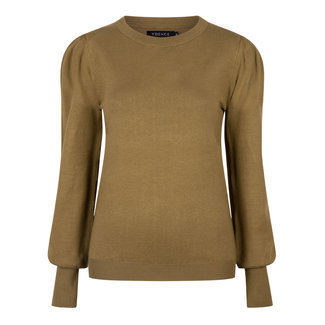 YDENCE knitted top kelsey olive