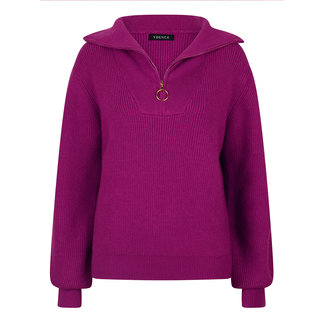 YDENCE knitted sweater Naomi purple