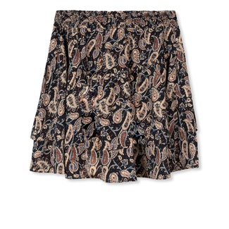 Department woven flowy skirt paisley