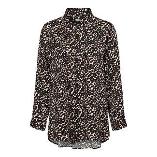 bowien blouse long leopard
